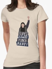 Super Sonic Punch - Cisco Womens Fitted T-Shirt