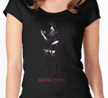 Kirishima  0012- Tokyo Ghoul Women's Fitted Scoop T-Shirt