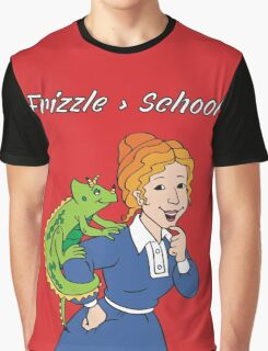 Frizzle > School Red Graphic T-Shirt