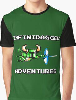 Infinidagger Adventures Graphic T-Shirt