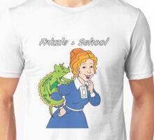 Frizzle > School Purple Unisex T-Shirt