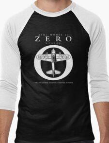 Mitsubishi Zero! Banzai! Men's Baseball ¾ T-Shirt