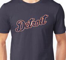 Detroit Tigers Typograph Unisex T-Shirt