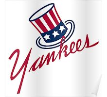 New York Yankees Old Logo Poster