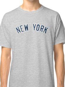 New York Yankees Simple Font Classic T-Shirt