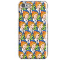 Frizzle Pattern iPhone Case/Skin