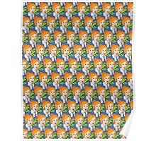Frizzle Pattern Poster