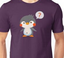 Questionmark and penguin - DozerFever  Unisex T-Shirt