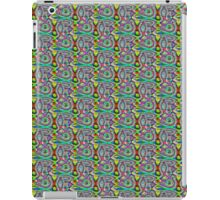 Multi-colored circular Psychadelic pattern iPad Case/Skin