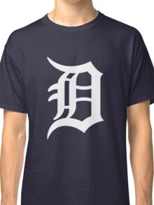 Detroit Tigers Nice Typograph Classic T-Shirt