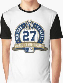 New York Yankees World Championships Graphic T-Shirt