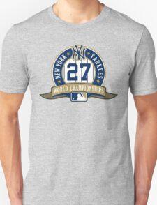 New York Yankees World Championships T-Shirt