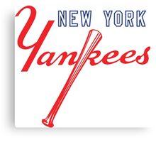 New York Yankees Old Logo Canvas Print