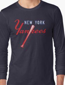 New York Yankees Old Logo Long Sleeve T-Shirt