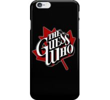 The Guess Who iPhone Case/Skin