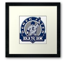 Derek Jeter New York Yankees Framed Print