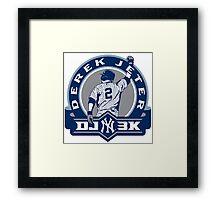 Derek Jeter New York Yankees Framed Print
