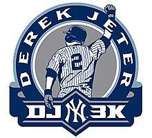 Derek Jeter New York Yankees Photographic Print