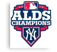 New York Yankees ALDS Champions Canvas Print