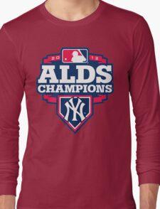 New York Yankees ALDS Champions Long Sleeve T-Shirt