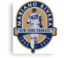 Mariano Rivera New York Yankees Legend Canvas Print