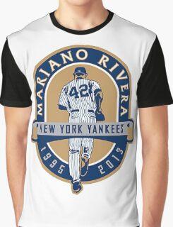 Mariano Rivera New York Yankees Legend Graphic T-Shirt