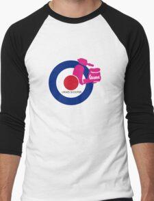 vespa ladies  Men's Baseball ¾ T-Shirt