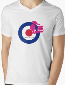 vespa ladies  Mens V-Neck T-Shirt
