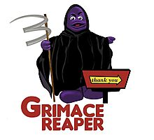 Grimace Reaper Photographic Print