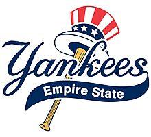 New York Yankees Empire State Photographic Print