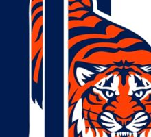 Detroit Tigers Basic Mascot Sticker