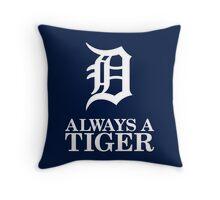 Always Be Detroit Tigers Throw Pillow