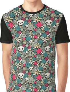 Skulls and flowers. (2) Graphic T-Shirt