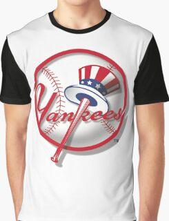 New York Yankees Nice Artwork Graphic T-Shirt