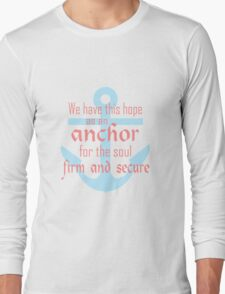 Hope as an Anchor Short Sleeve funny nerd geek geeky T-Shirt