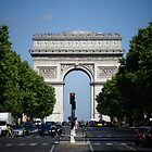 Champs elysees by DES PALMER