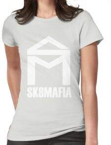 mystery skateboards Womens Fitted T-Shirt