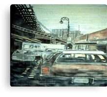 231st St. & Broadway Canvas Print