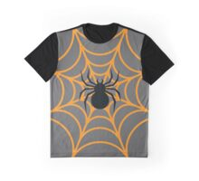 Halloween Spider Graphic T-Shirt