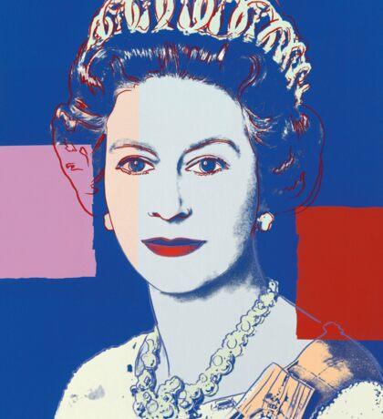 Queen's portrait Sticker