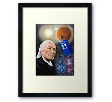 First Doctor Framed Print