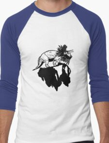 Bottle Brush Dino Men's Baseball ¾ T-Shirt