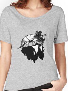 Bottle Brush Dino Women's Relaxed Fit T-Shirt