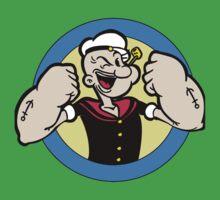 popeye the sailorman One Piece - Short Sleeve