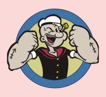 popeye the sailorman Kids Tee