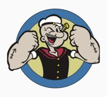 popeye the sailorman One Piece - Short Sleeve