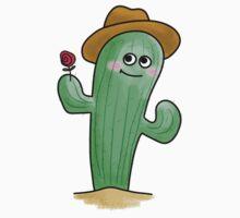 Blushing Cactus Baby Tee