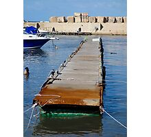 Pier-less Photographic Print