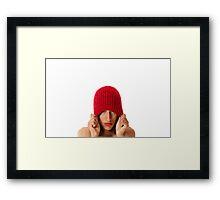 Strawberry Lady Framed Print