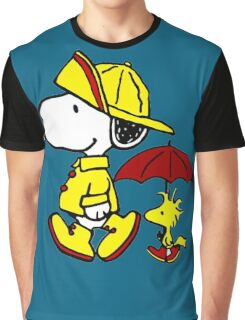 FIREMAN ON DUTY Graphic T-Shirt